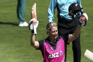 Sophie Devine becomes first cricketer to score five 50+ scores in T20I cricket