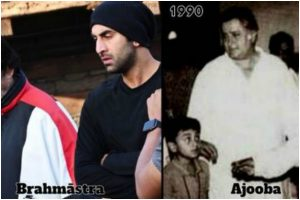 Amitabh Bachchan recalls meeting with Ranbir Kapoor, shares old pic