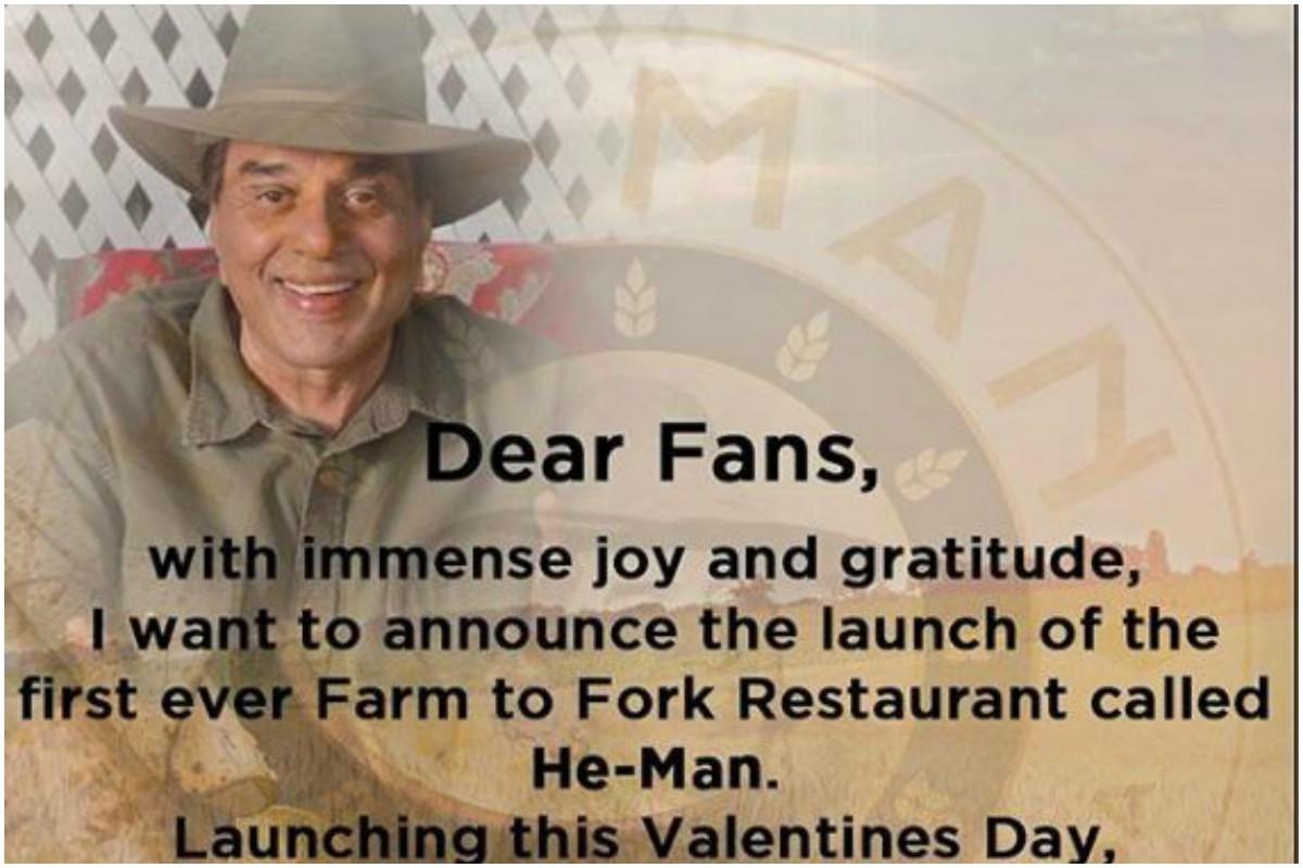 Valentine's Day, He-Man, Garam Dharam, Dharmendra Deol