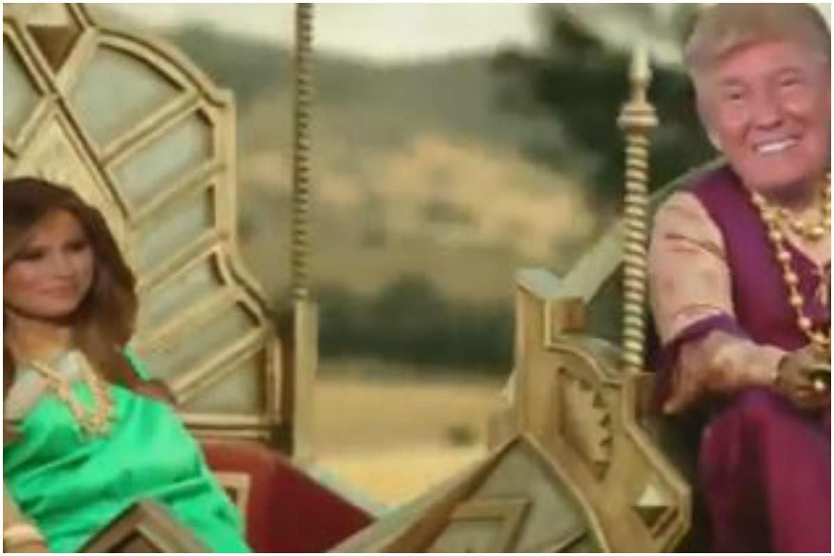 Trump's 'Baahubali' avatar is a hit