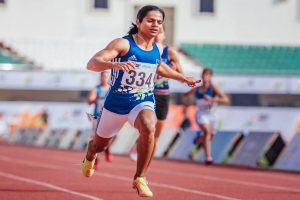 Dutee Chand wins 100m dash in Khelo India University Games
