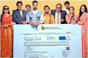 Ayushmann Khurrana starrer 'Shubh Mangal Zyada Saavdhan' gets UA certificate