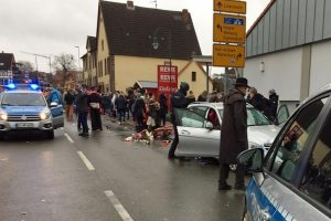 30, including children injured as car drives into carnival parade in Germany