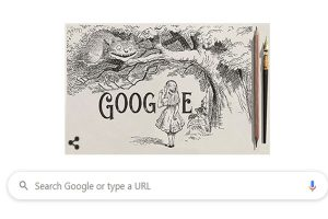 Google honours illustrator Sir John Tenniel on his 200th birth anniversary with doodle