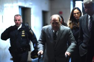 Harvey Weinstein trial: Trapped in bathroom, groped says actress