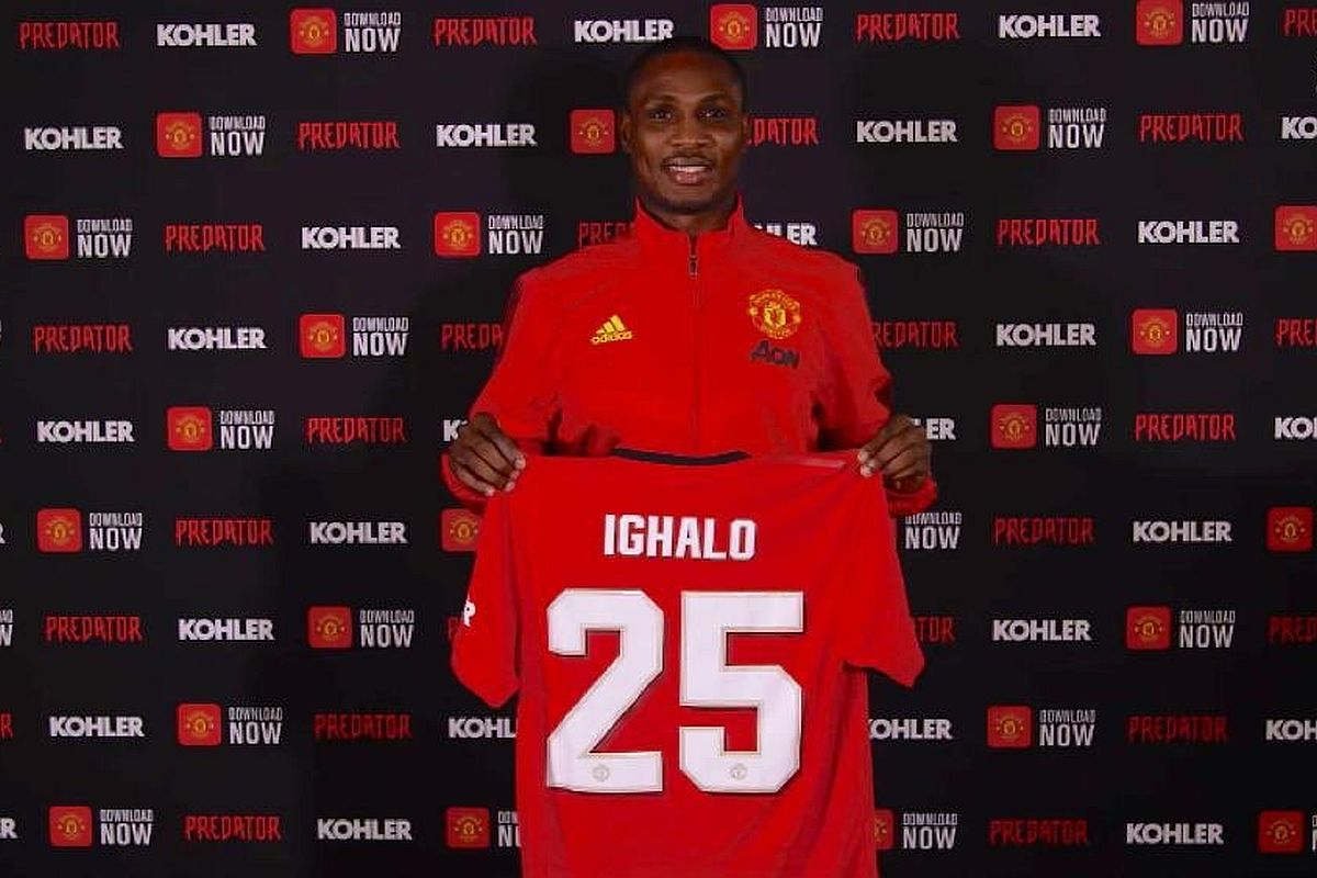Odion Ighalo breaks silence on Manchester United move
