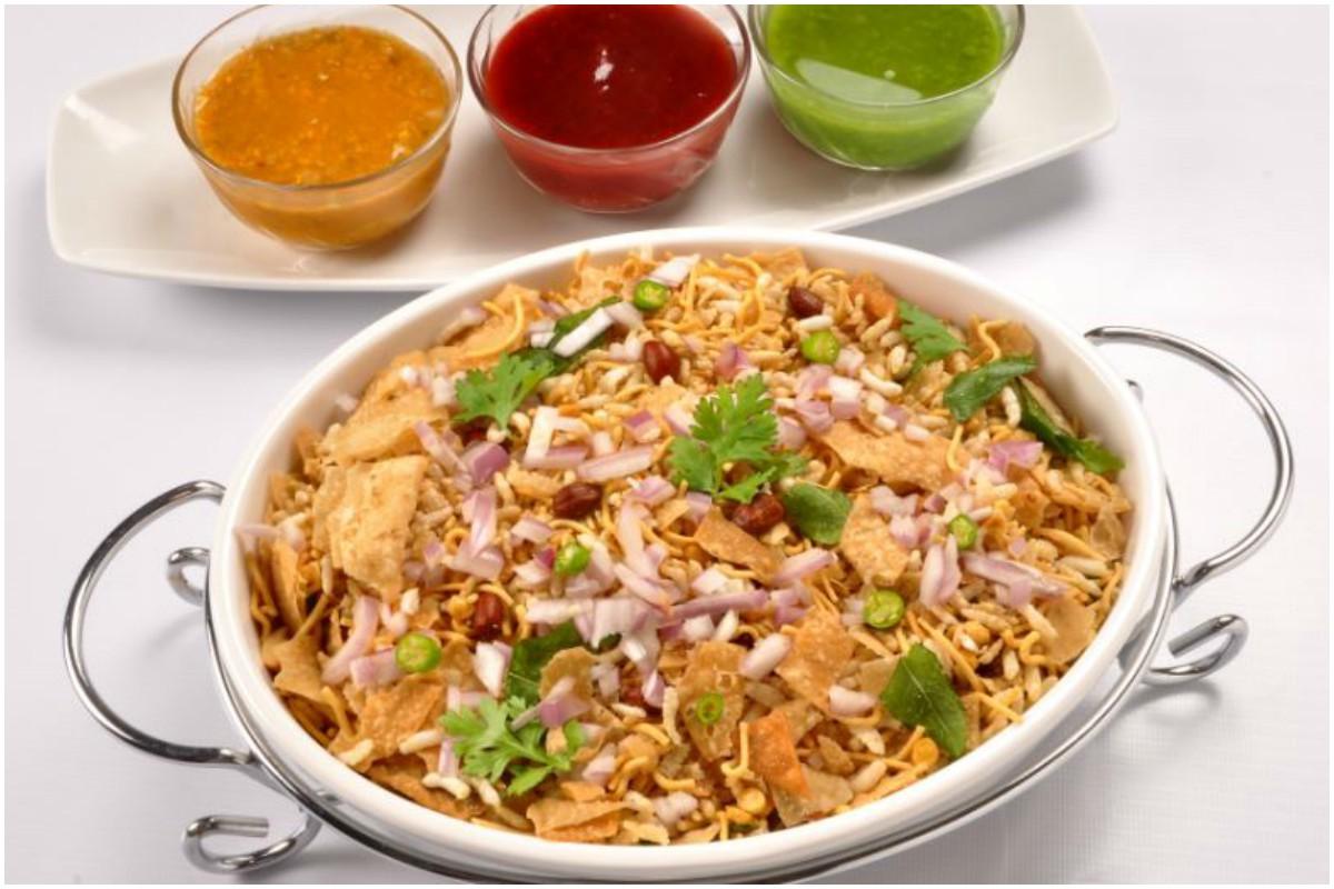 Roasted chana and peanut chaat, , Food Recipe