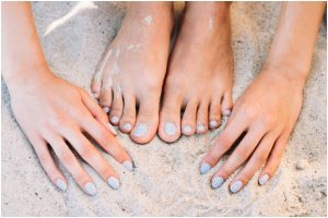 How to get rid of tanning from hands and feet?