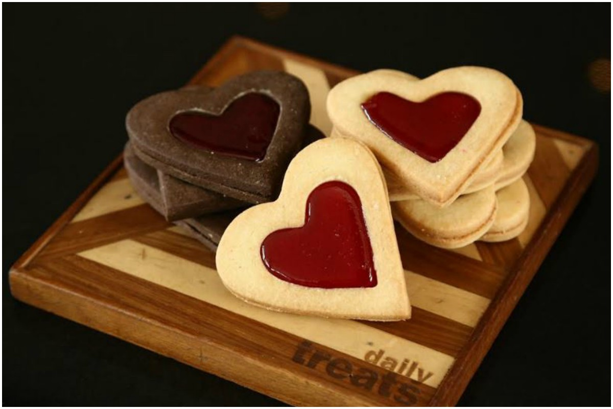 Valentine's Day recipe, Valentine's Shortbread Cookies