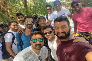 Team India enjoy day off at Blue Springs ahead of first Test against New Zealand