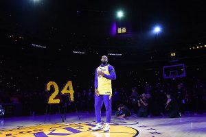 WATCH | LeBron James gives emotional tribute to Kobe Bryant ahead of Lakers' NBA game