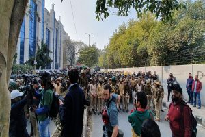 Jamia students allege manhandling by police during anti-CAA march to Parliament