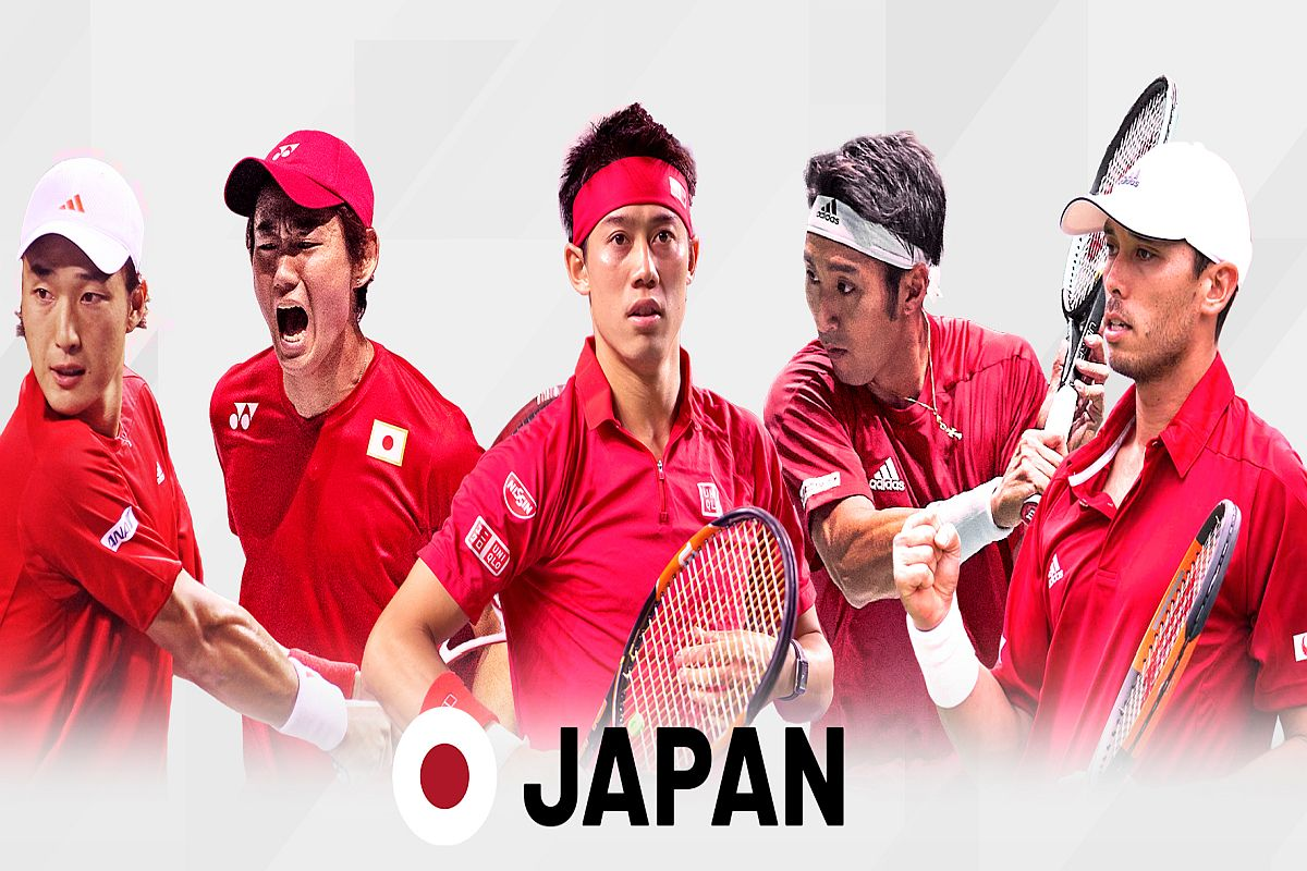 Davis Cup, Japan, Ecuador, Coronavirus