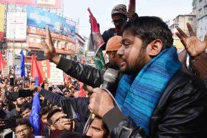 Former JNUSU President Kanhaiya Kumar's convoy attacked in Bihar's Arrah district