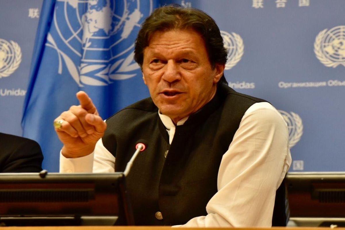 Imran Khan forgets Pak minorities, attacks 'Nazi-inspired RSS ideology' - The Statesman