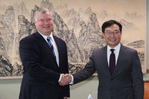 S Korea-US envoys speak over Pyongyang denuclearization