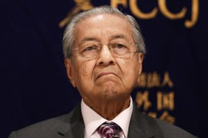 Malaysian Prime Minister Mahathir Mohamad resigns, sends letter to king