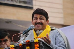 Manoj Tiwari expresses hope of 'victory' amid trends showing 'huge' gap between AAP, BJP