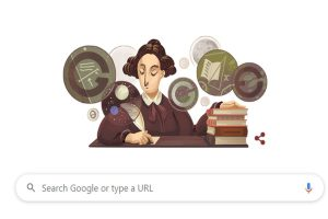 Google honours groundbreaking Scottish scientist Mary Somerville with a doodle