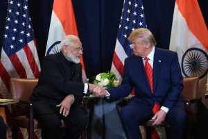 Its 'Make in India' vs 'America First' as host PM Modi all set to greet Prez Trump