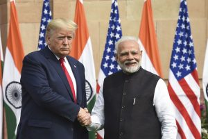 Mr Trump in India