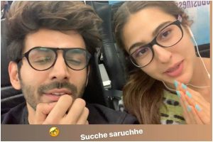 Watch | Kartik Aaryan and Sara Ali Khan's Gujarati is 'SARA' chhe