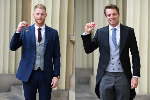 Ben Stokes, Jos Buttler collect royal honours at Buckingham Palace