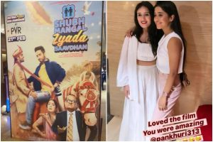 Shivangi Joshi has all hearts for co-star Pankhuri Awasthy as latter makes Bollywood debut with Shubh Mangal Zyada Saavdhan