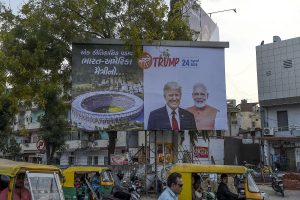 1 lakh, not 7 million to welcome Donald Trump at Ahmedabad roadshow: Official