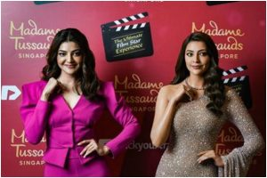 Kajal Aggarwal becomes first South Indian actress to have Madame Tussauds' wax statue