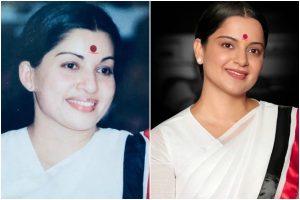 Thalaivi: Makers unveil Kangana Ranaut's new still on Jayalalithaa's 72nd birth anniversary