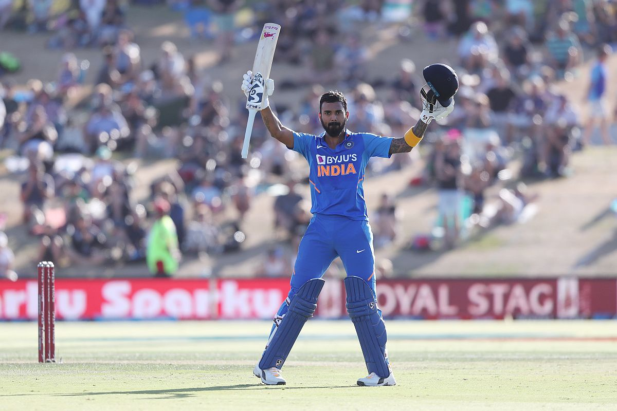IND vs NZ, 3rd ODI: KL Rahul's century helps India set commendable target of 297