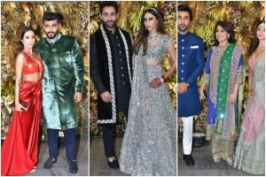 B-town makes stylish appearance at Armaan Jain's wedding reception; see pics