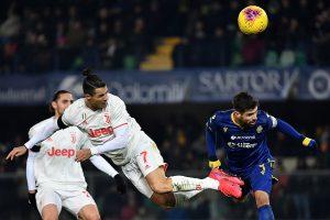 Juventus lose despite Cristiano Ronaldo scoring in record 10th consecutive Serie A game