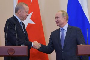 Turkey President Erdogan, Putin discuss Syrian forces' attack in Idlib