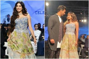 Watch | Janhvi Kapoor plays dumb charades with team before walking the ramp