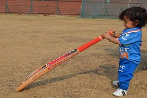 Never too young: Sachin Tendulkar in awe of 10-month old cricket fan