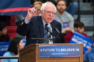 US election: Bernie Sanders boasts about previous wins, takes aim at Joe Biden