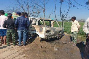 4 children charred to death as school van catches fire in Punjab; CM orders probe