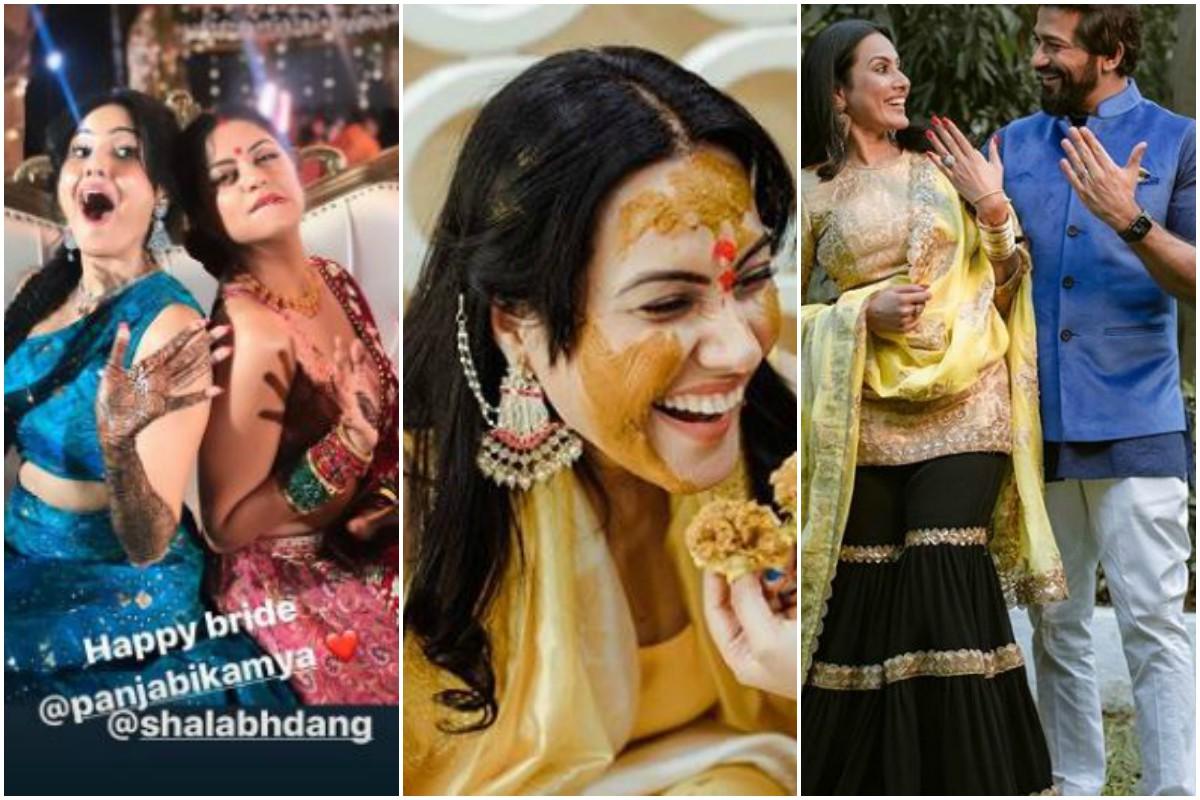 Kamya Panjabi gives sneak peak of her pre-wedding rituals, see pics