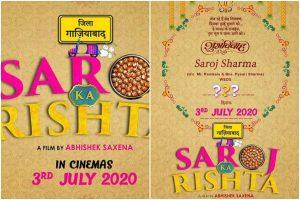 Shahid Kapoor's sister Sanah Kapur's wedding-comedy 'Saroj Ka Rishta' gets release date
