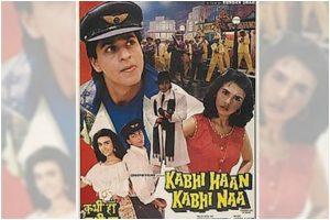 Shah Rukh Khan starrer 'Kabhi Haan Kabhi Naa' clocks 26 years