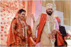 Kamya Panjabi ties knot with beau Shalabh Dang, See pics