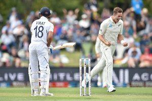 IND vs NZ, 2nd Test: Virat Kohli falls prey to Tim Southee for 10th time