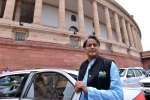 Govt should name its schemes as 'sit-down', 'shutdown', 'shut-up India': Shashi Tharoor