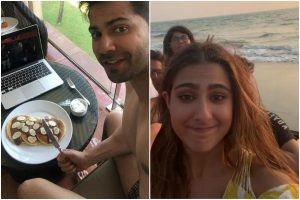 Coolie No 1: And it's a wrap; Varun Dhawan celebrates with pancakes