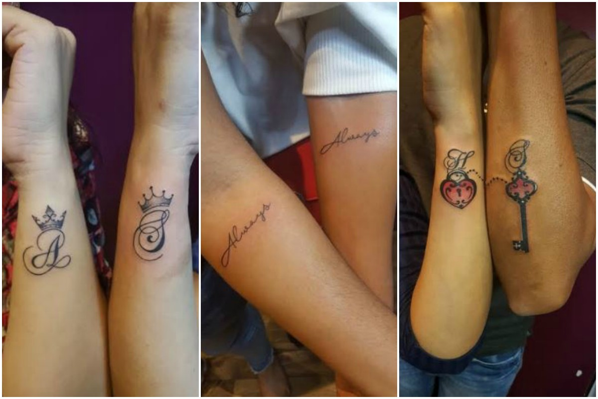 Valentine's Day, Tattoo lovers, Tattoos for couple