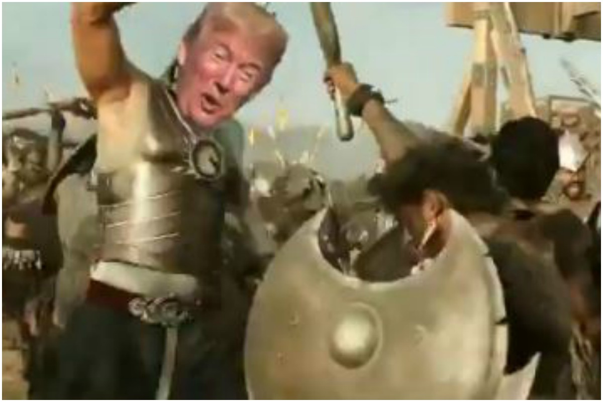 Baahubali makers welcome US President Donald Trump to incredible India