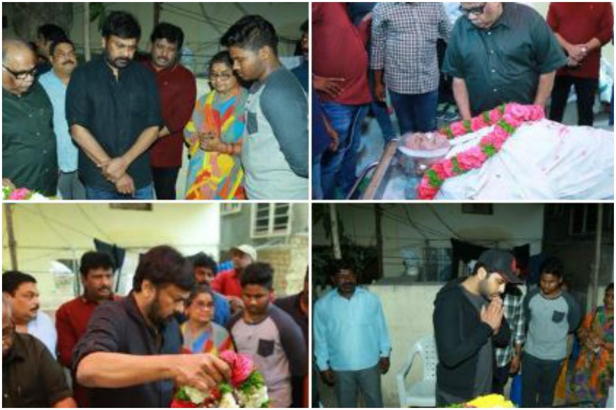 Senior film journo Pasupuleti Rama Rao dies; South celebs including Naga Chaitanya, Chiranjeevi pay tribute