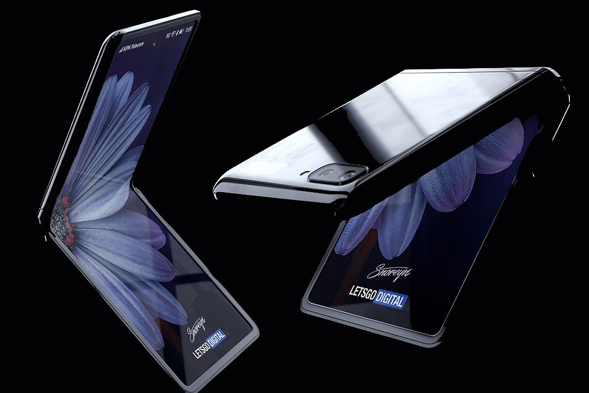 Samsung's foldable clamshell Galaxy Z Flip video leaked online
